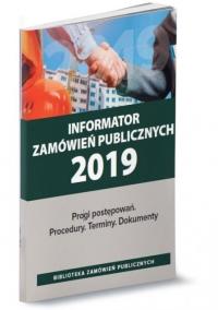 Informator zamówień publicznych 2019
